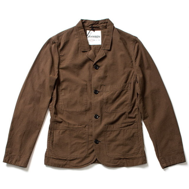 CASUAL SUMMER BLAZER_BROWN