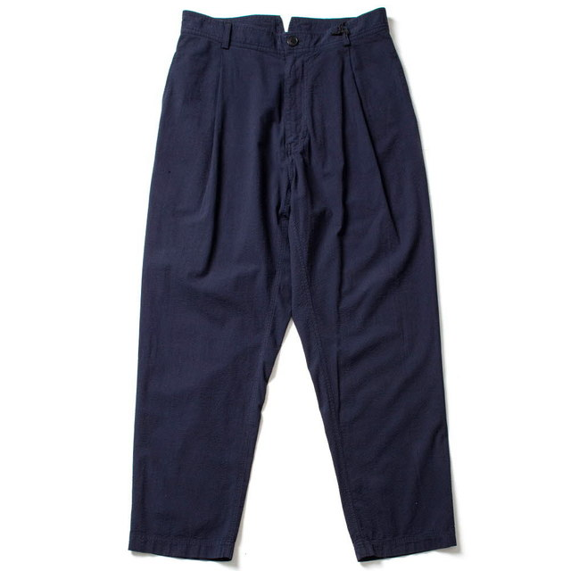 WIDE CUT TROUSERS_NAVY
