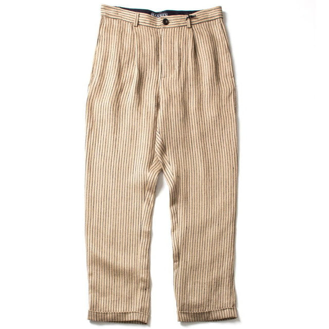 LOOSE FIT TROUSERS_BEIGE