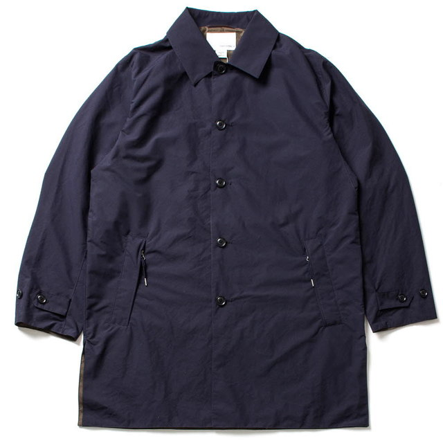 SOUTIEN COLLAR COAT_NAVY
