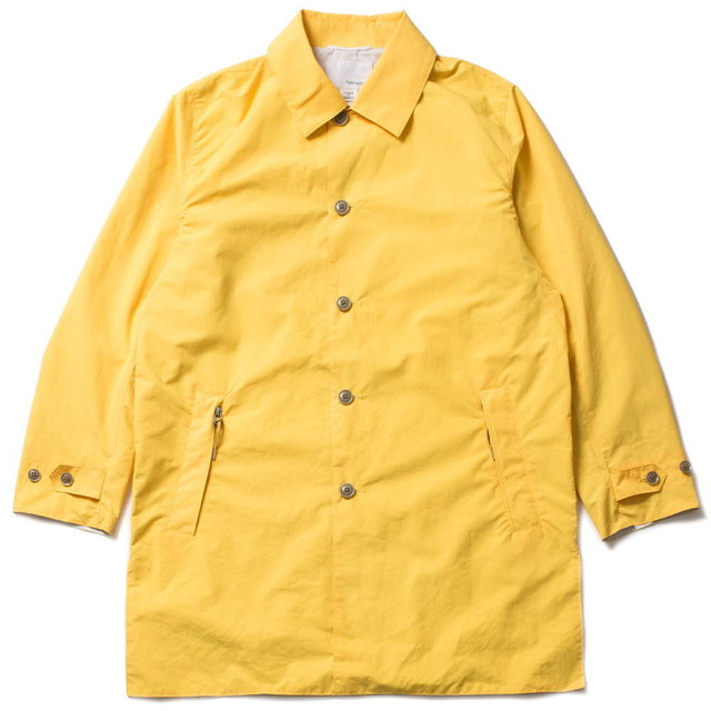 SOUTIEN COLLAR COAT_YELLOW