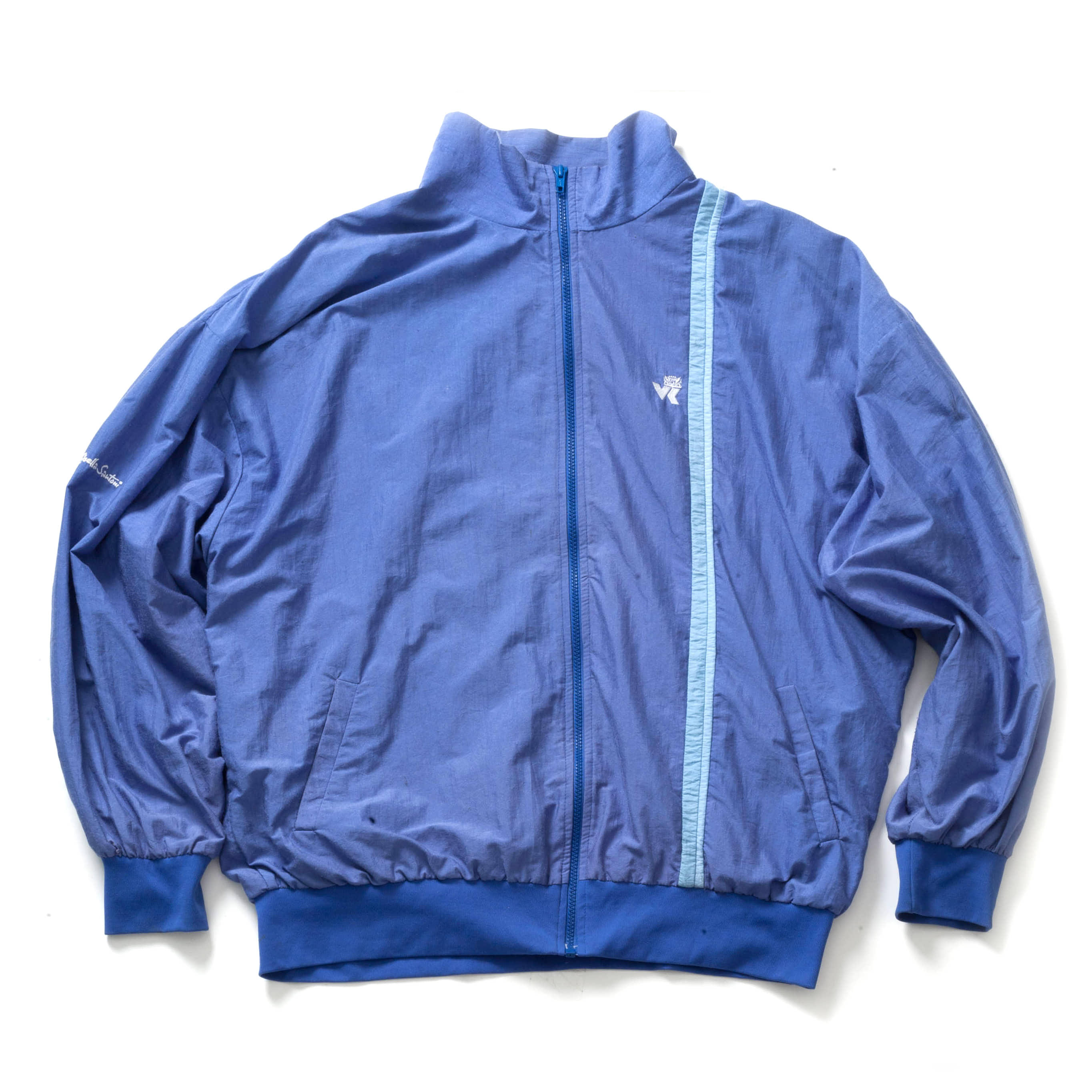 VINTAGE SILK MA-1 JACKET_LIGHT BLUE