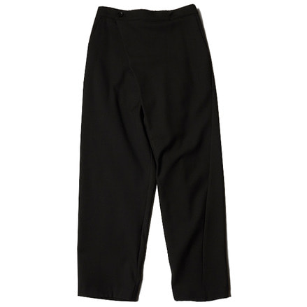 WRAP EASY PANTS _ BLACK