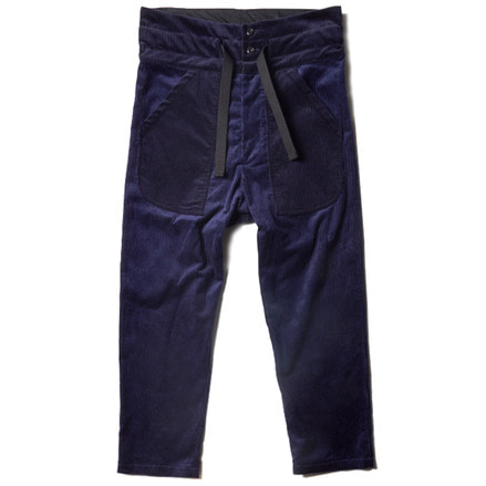 PULLCORD TROUSER _ DARK NAVY