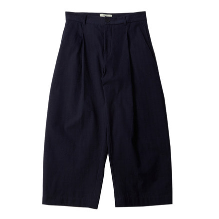 BRYN VOLUME PANTS _ DARK NAVY