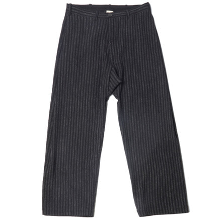 TROUSERS#46 - BLACK CHALK STRIPE