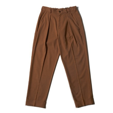UTILITY TROUSER_SOLID CAMEL