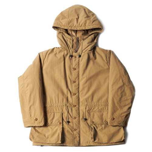 BUTTON FRONT PARKA_COYOTE