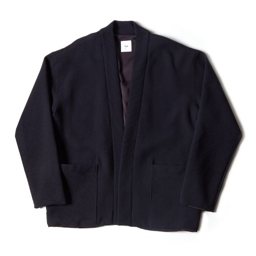 LINED EASY CARDIGAN_NAVY