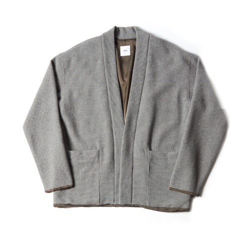 LINED EASY CARDIGAN_GRAY