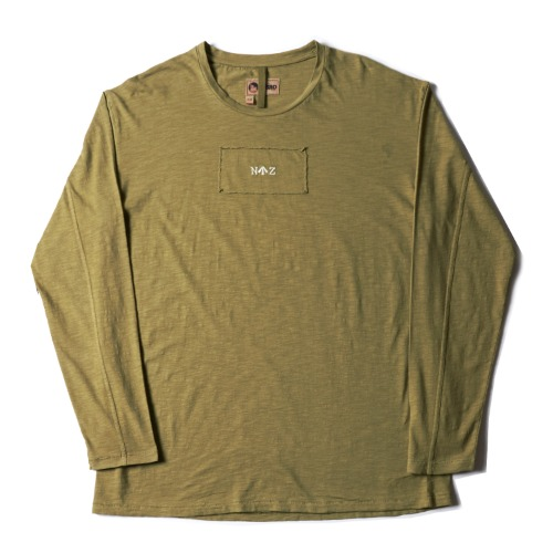 LYBRO LONG SLEEVE TEE_GREEN
