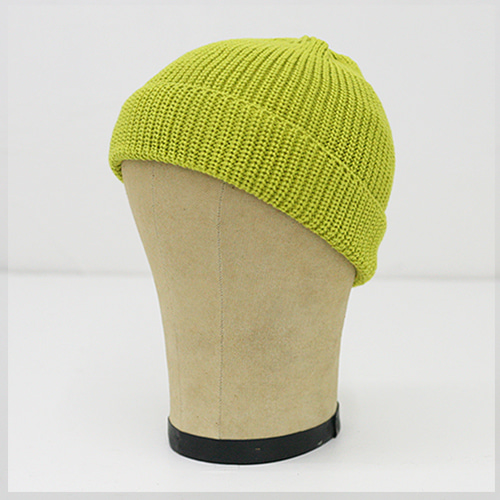KNIT CAP SHORT_LIMETTE