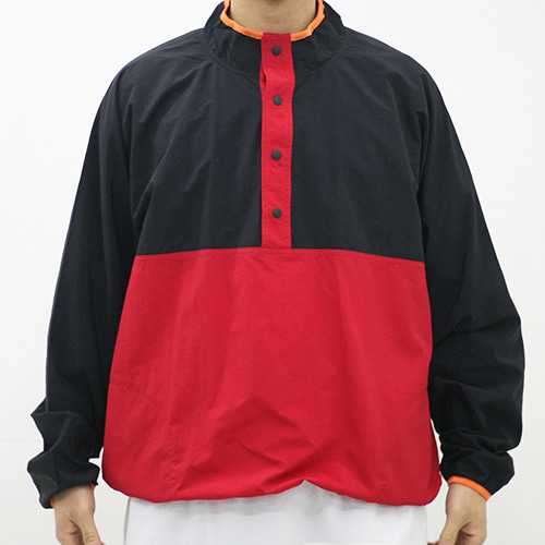 SNAP PULLOVER_RED