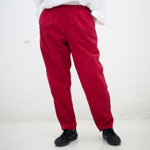 TRACK PANTS_RED