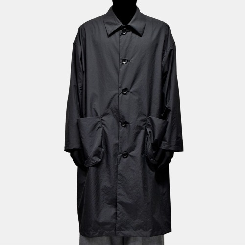TYPEWRITER LONG COAT_BLACK