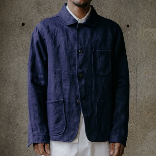 THREE POCKET JACKET_FRENCH BLUE