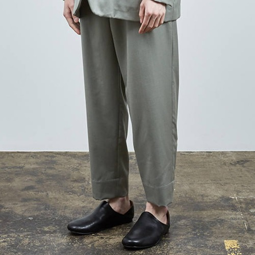 ASIDE EASY EASY SLACKS_STONE GREEN