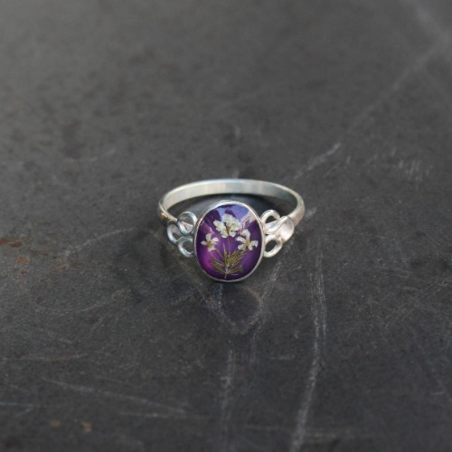 OVAL RING_PURPLE