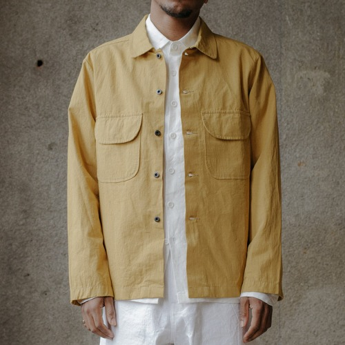 FIELD SHIRT_OCHRE
