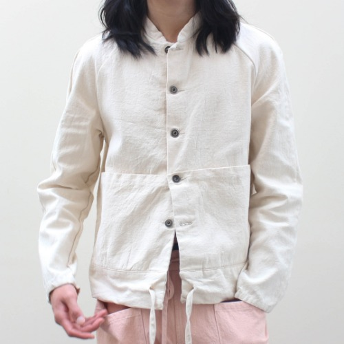 DUSTR JACKET_WHITE