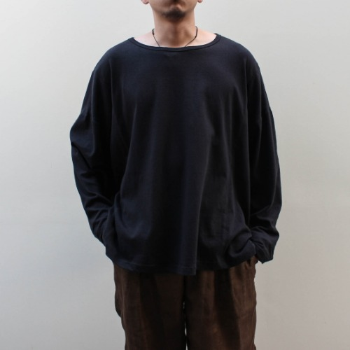 OVERSIZED LONG SLEEVE TSHIRT_BLACK