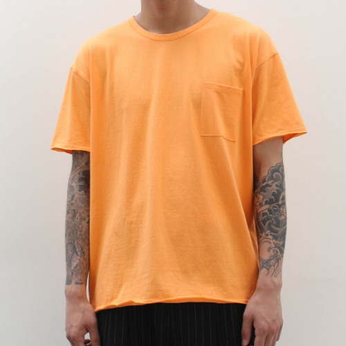 BASIC SEXY SS T-SHIRT_ORANGE