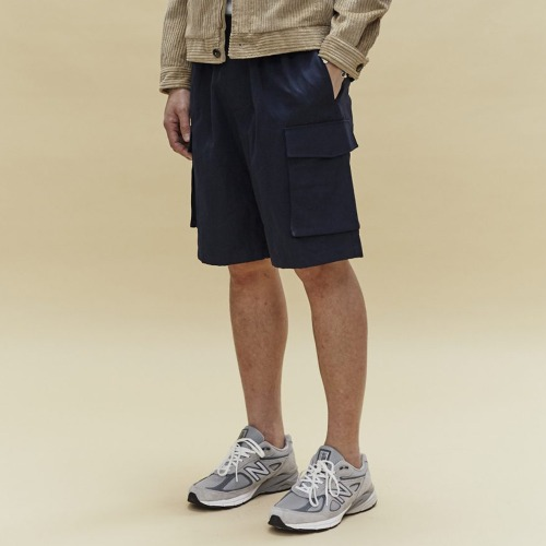 AWU SHORTS_NAVY