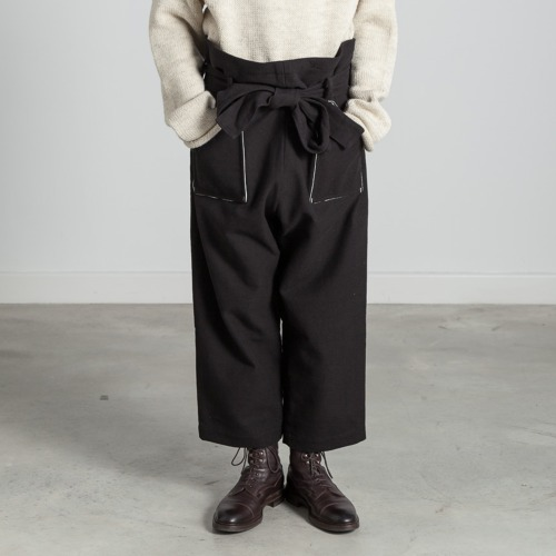 [EXCLUSIVE] CANVAS PANTS_BLACK