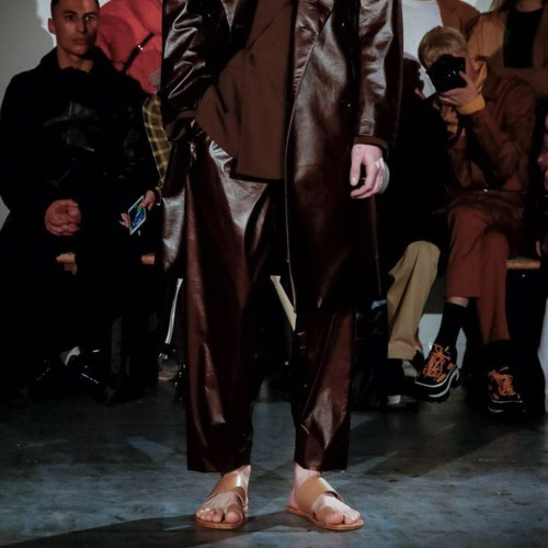 JUDO PANTS_BROWN LEATHER
