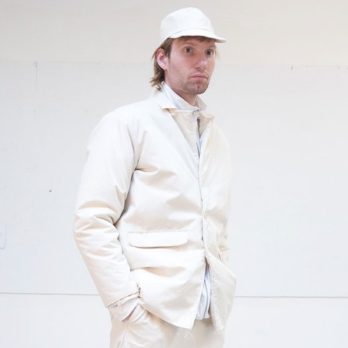 PADDED SQUARE JACKET_WHITE