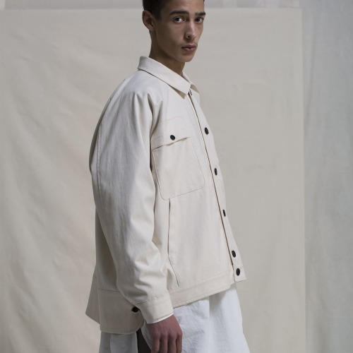WORKWEAR JACKET CANVAS_KINARI