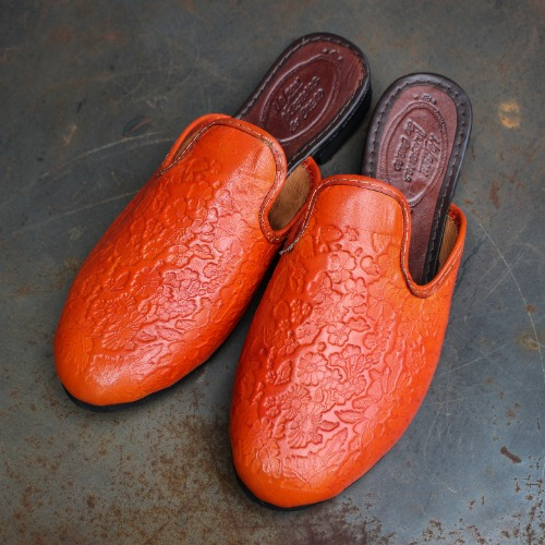 EMBOSS ZAPATILLAS_ORANGE