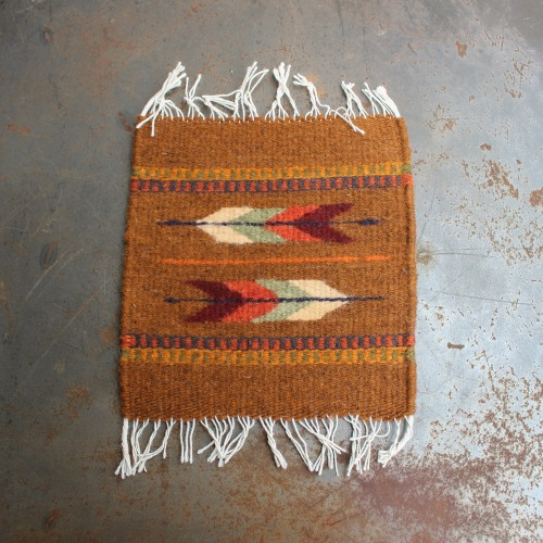TIME TELL WORKS_TRIVET RUG MAT_ORANGE
