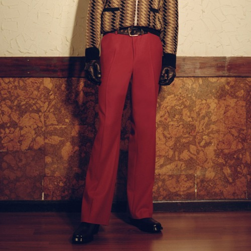 TAILORED TROUSERS_RED