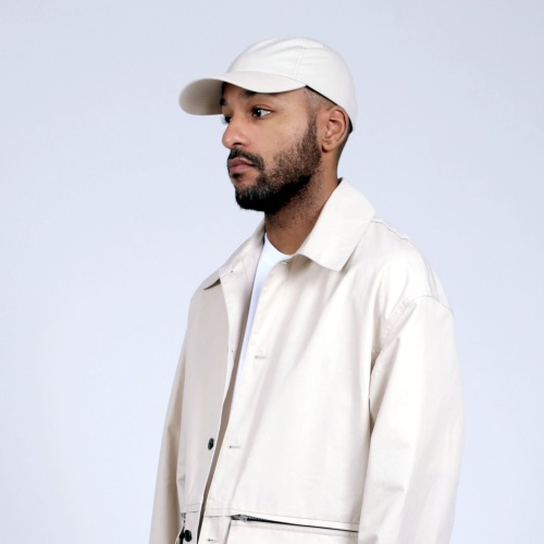 LOWNN BACK SIGNATURE CAP_OFF WHITE