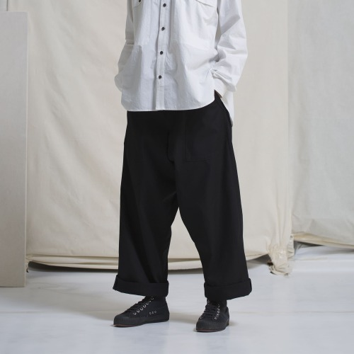 LOOSE FIT TROUSERS_BLACK