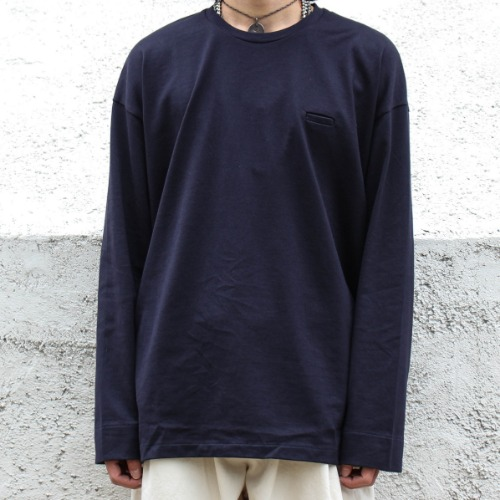 BALLOON LONG T_DARK NAVY