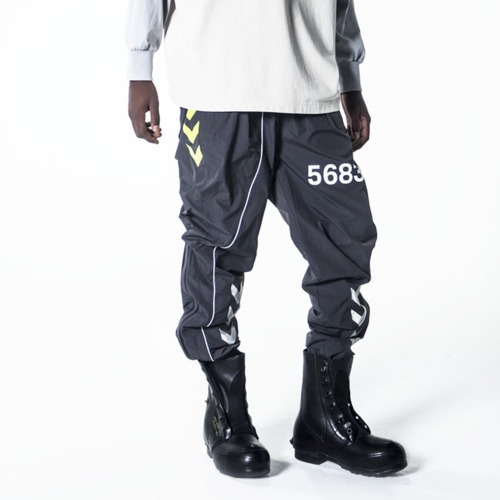 WILLY X HUMMEL WOVEN PANTS_BLACKENED PEARL
