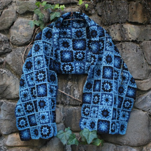 PIECE SCARF_DARK TRIP