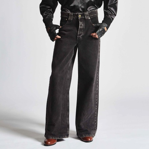 WILLY DISCO JEANS_WASHED BLACK DENIM