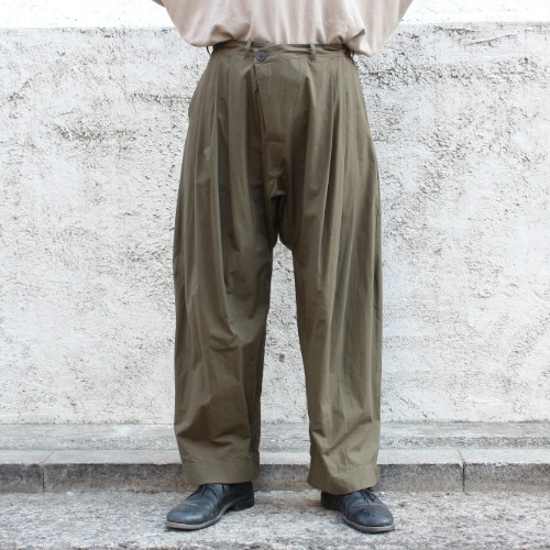 TROUSERS#55_MOSS ORGANIC COTTON