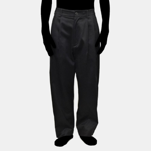 2TUCK PANTS_BLACK