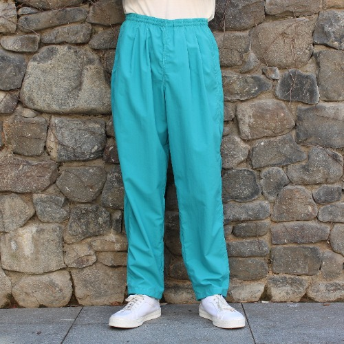 TRACK PANTS_TURQUOISE