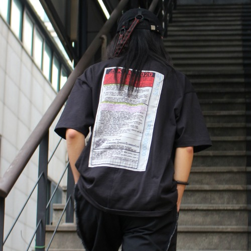 LOOSE FIT T-SHIRT_BLACK