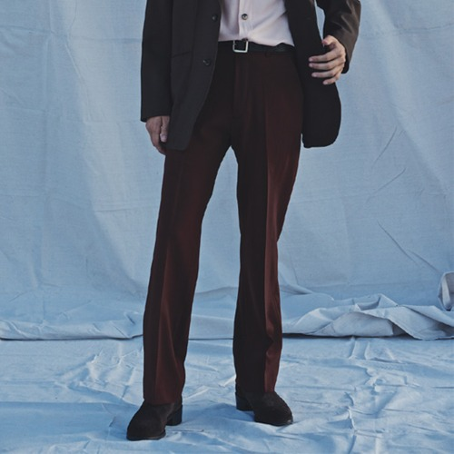 TAILORED TROUSERS_WINE