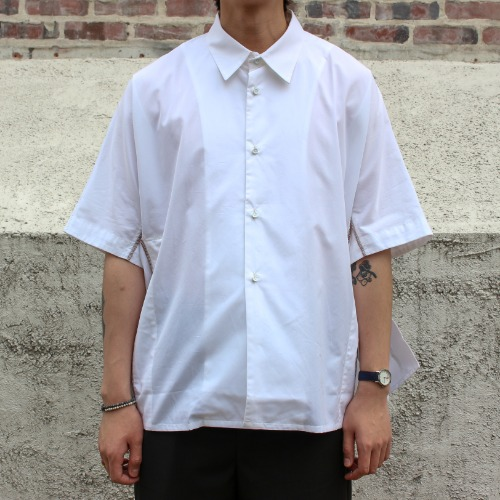 VENTED SHIRT_SNOW