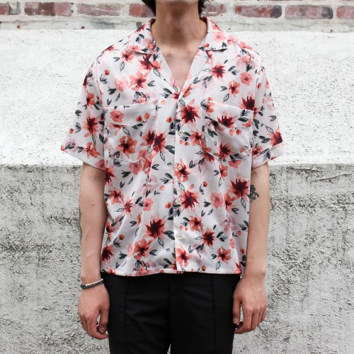 LIMITED S/S SHIRTS_FLOWER
