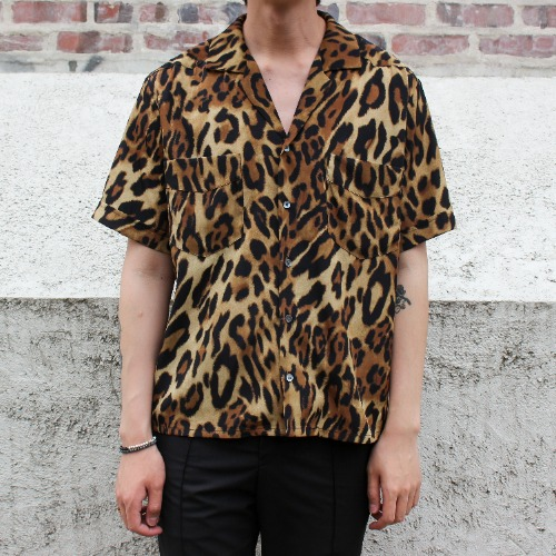 LIMITED S/S SHIRTS_BROWN LEOPARD