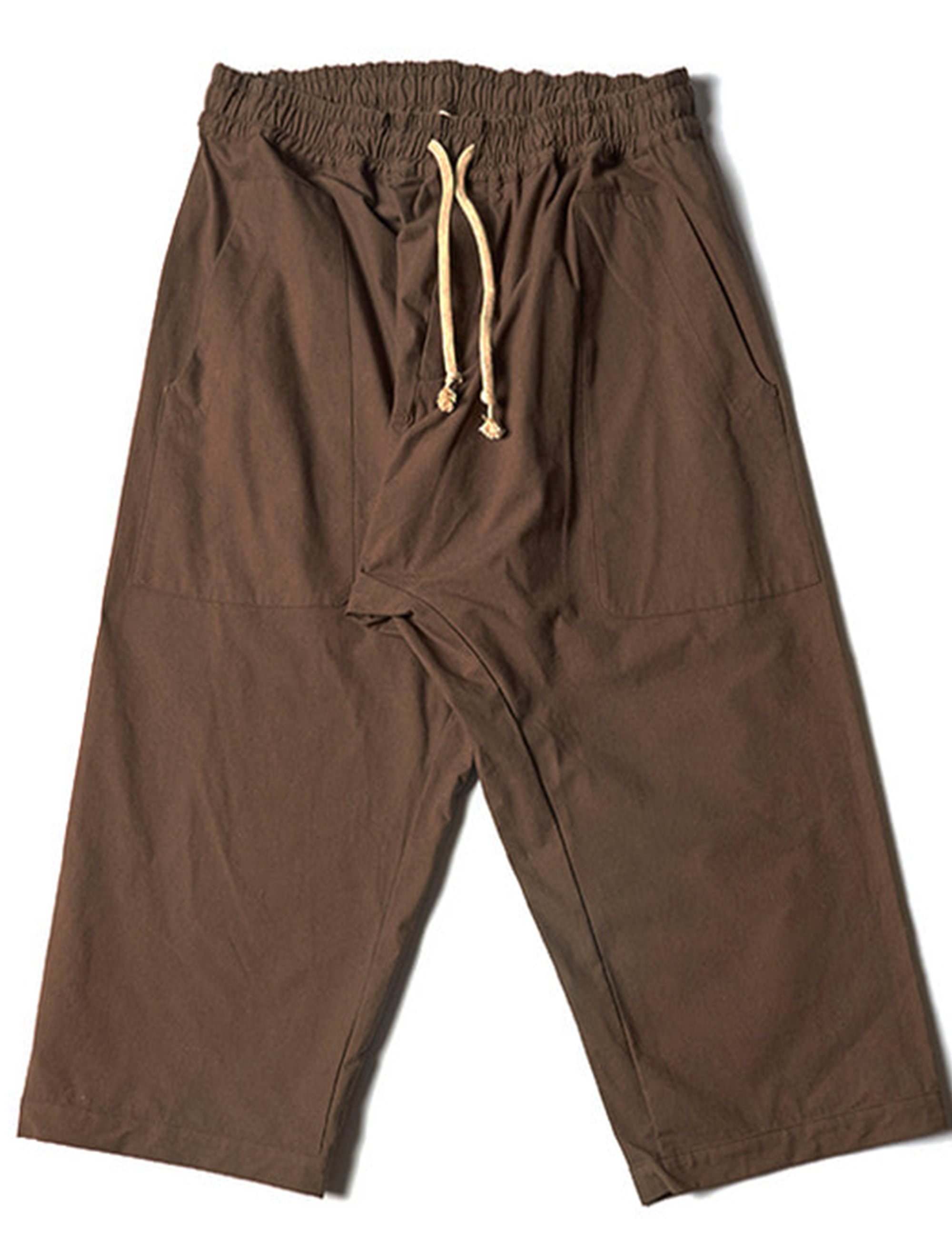 WIDE FIT TROUSERS _ MUD