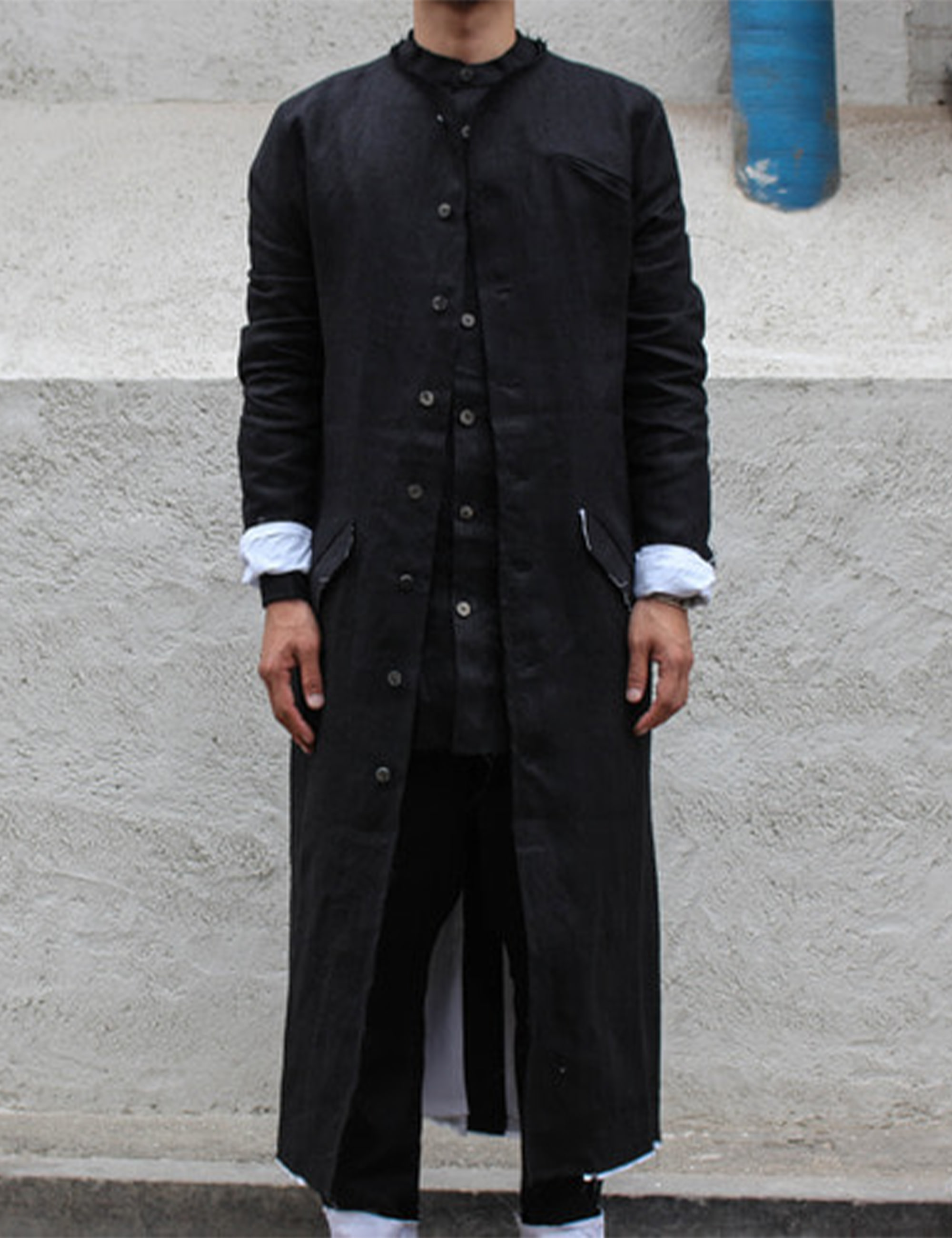 BJORG LONG COAT_BLACK